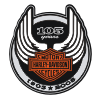 haley davidson 105 years logo